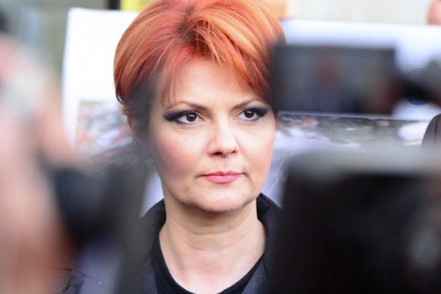 ministrul muncii olguta vasilescu lia
